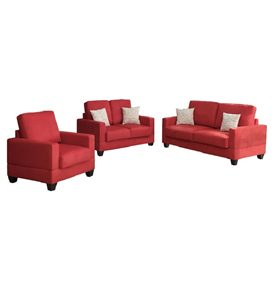 BOB-KONA FABRIC SET - RED