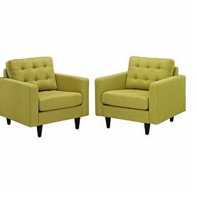 EMPRESS ARMCHAIR - LEMON