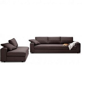 FOSSA 5 SEATER SET - BROWN