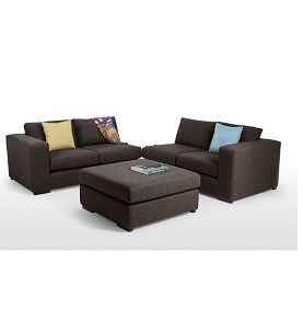 BOND MODULAR SOFA - BROWN