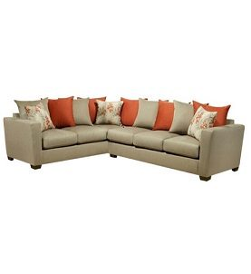 MELROSE 6 SEATER SECTIONAL