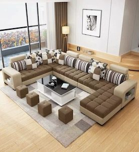 ANTA MODULAR SOFA SET + TABLE