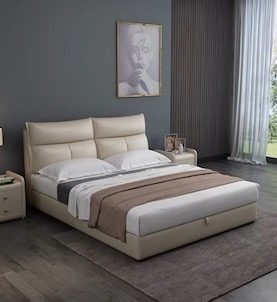 Gogo Upholstered Storage Bedframe
