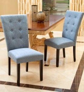 Remia Upholstered Dining Chair Set of 2