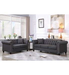 Sharnice 2-Piece Chesterfield Set