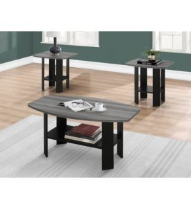 Sutton 3 Piece Coffee Table Set