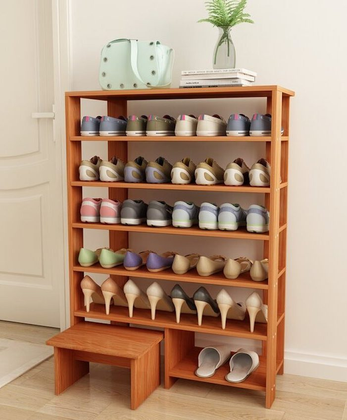 21-Pair Shoe Rack
