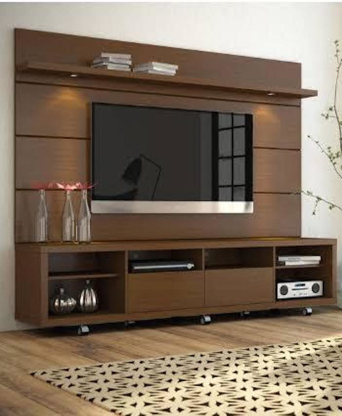 Floating Entertainment Center for TVs up to 70