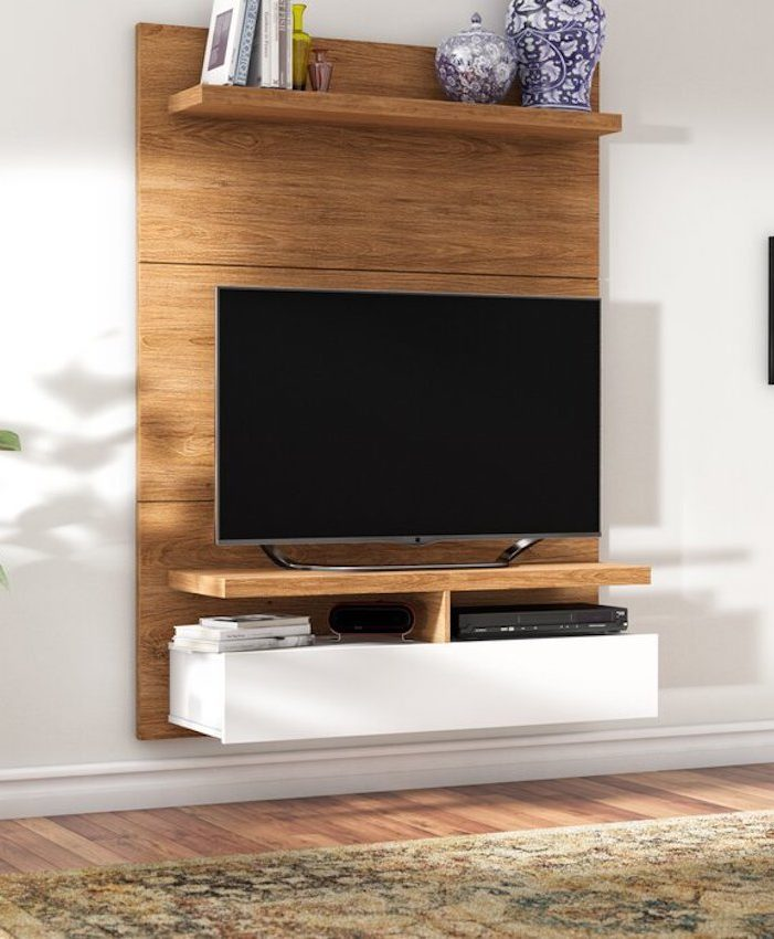 Keenam Floating Entertainment Center for TVs up to 42