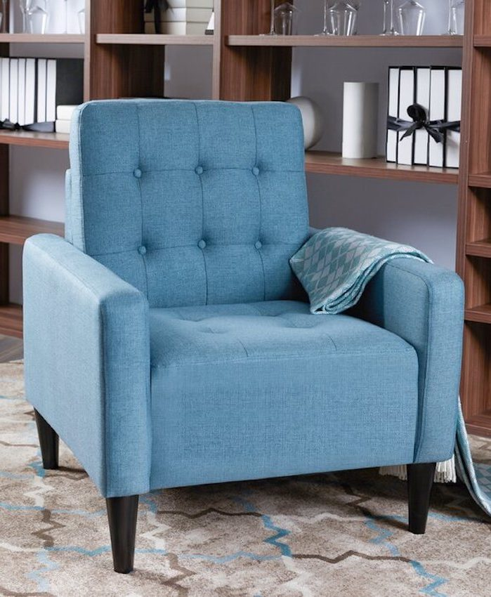 Saman Tufted Accent Chair
