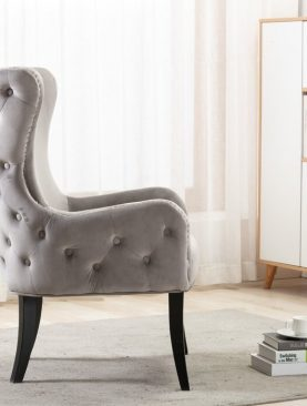 Ishabel Wing-Back Accent Chair