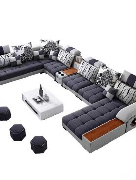 Xela Modular Sofa Set + Table