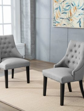 Hopkin Tufted Upholstered Dining Chair (set of 2)